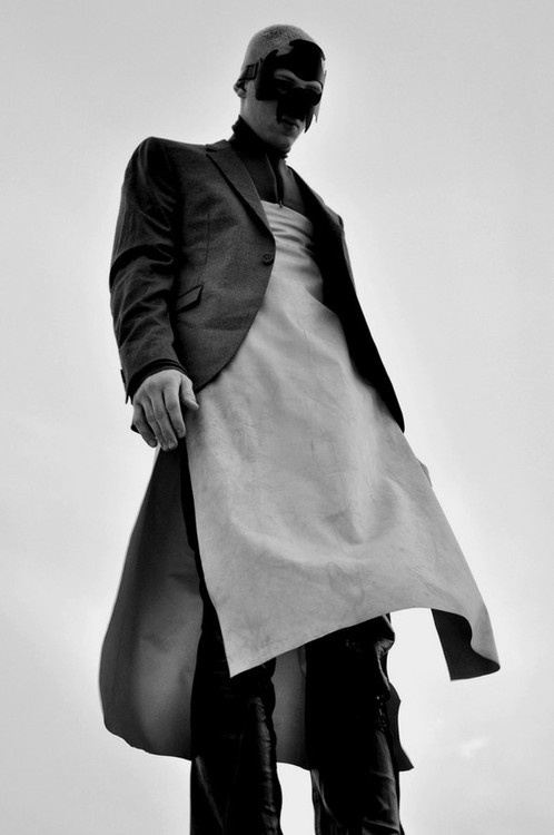 All photography by Char Alfonzo. Styling by Paul-Simon Djite. Jeremy wears Givenchy, Dries Van Noten, Ann Demeulemeester, Mugler, Rick Owens, Zana Bayne and Bevel NYC. Jeremy Wardlaw with Re:quest Models • Brooklyn, NY