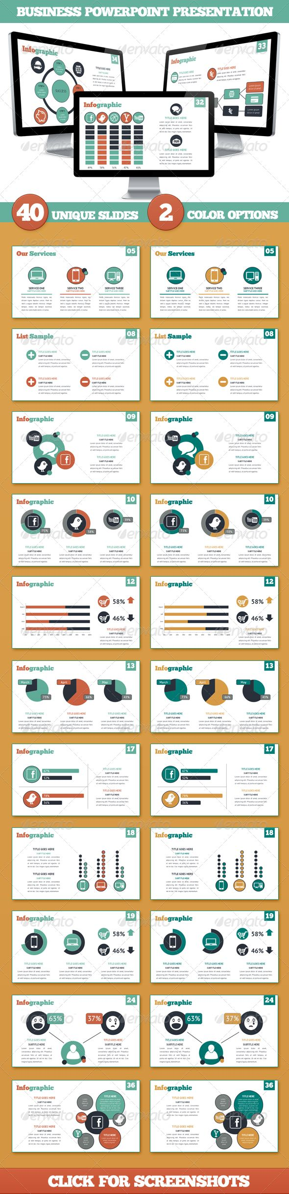 Business Powerpoint Presentation  #GraphicRiver              FILES