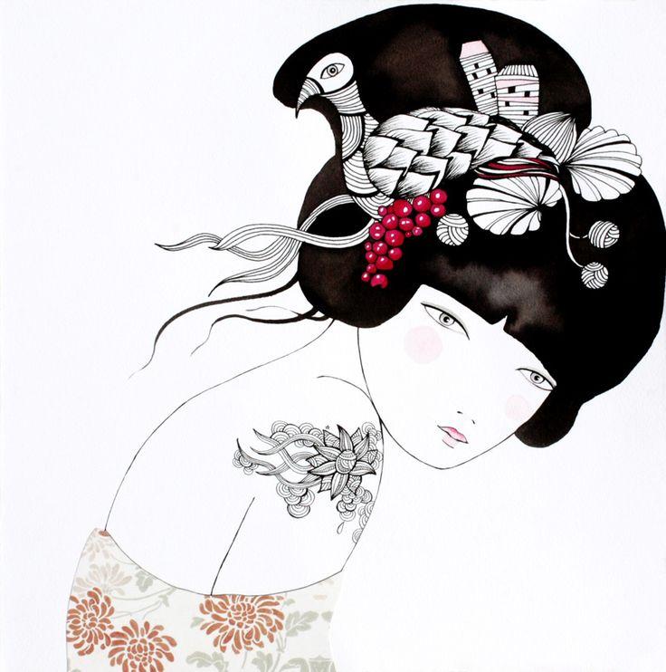 Ilustración preciosa de  Lady Desidia