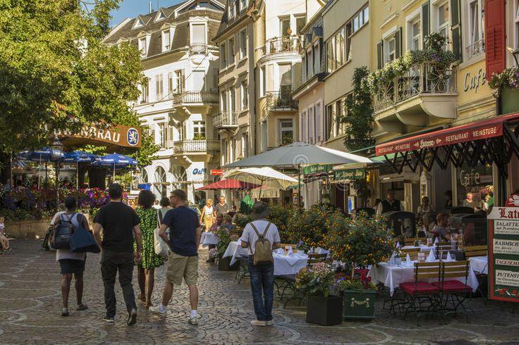 City Center In Baden Baden, Germany Editorial Image - Image: 97020185