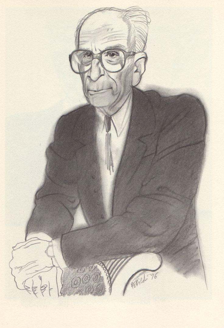 Tullio Pericoli Claude Lévi-Strauss
