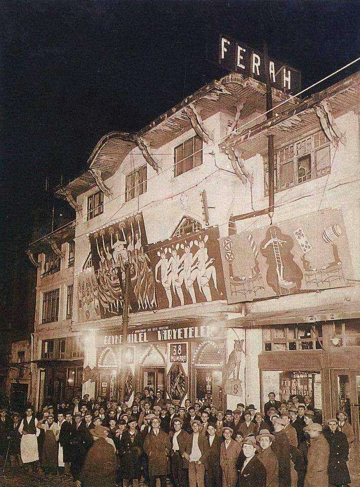 Şehzadebaşı Ferah Tiyatrosu