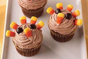 Easy Turkey Cupcakes Image 3