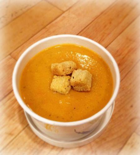 Tuscan Chick Pea Tomato Soup