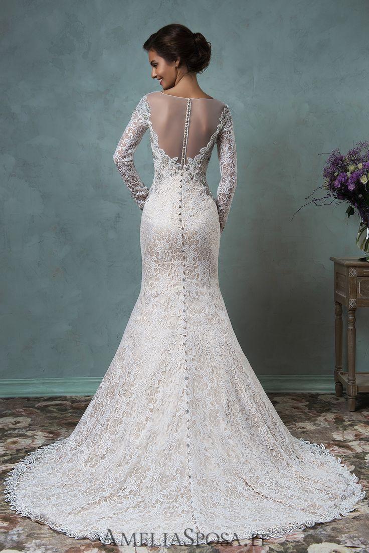 Wedding Dress Tiffany, Silhouette: Sheath / Mermaid