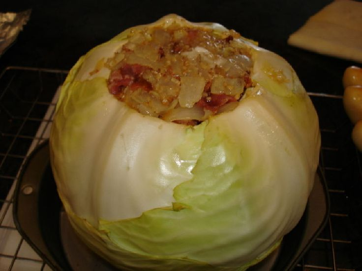 One more Smoked Cabbage