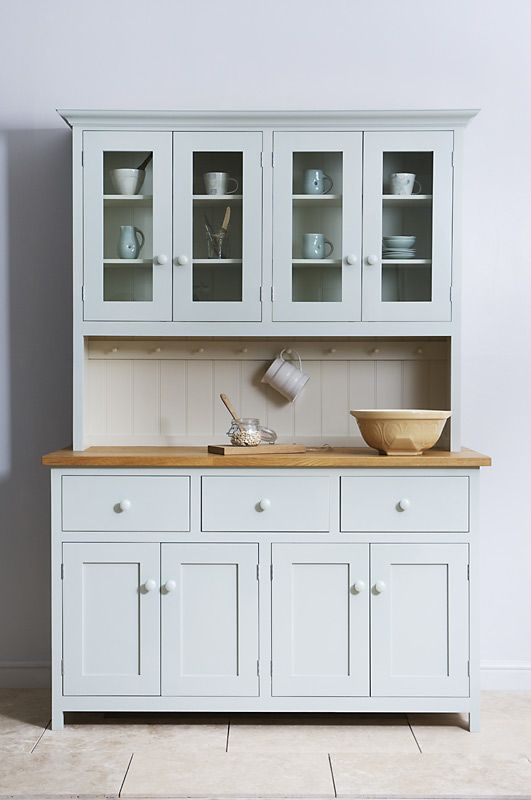 This beautiful glazed dresser is from the deVOL Real Shaker Kitchen Range