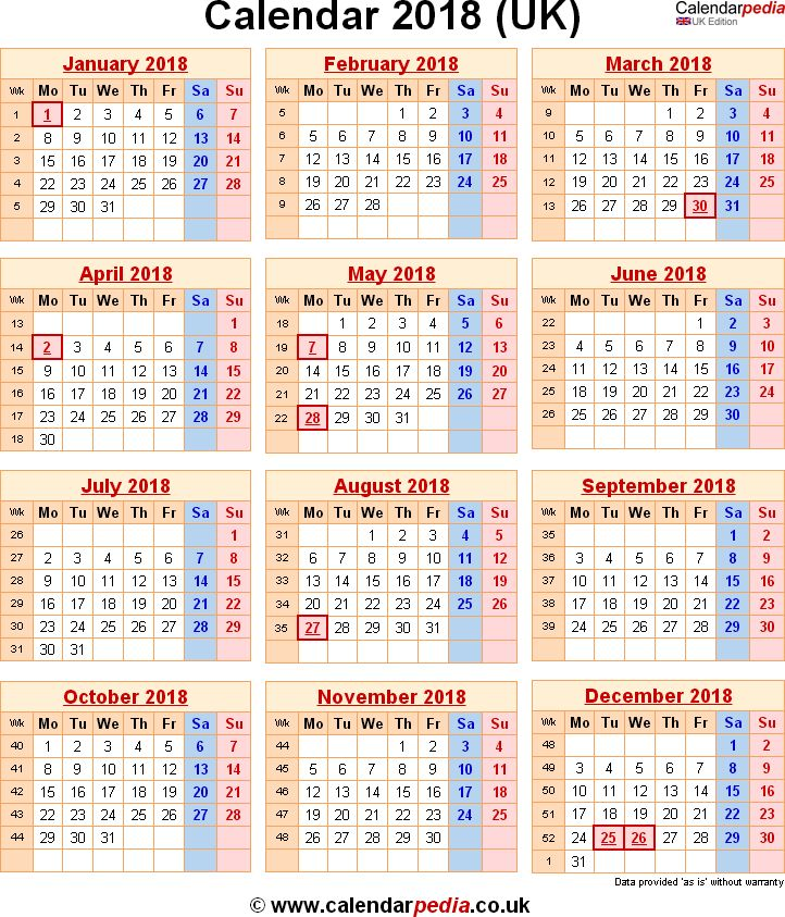 25 best 2018 Calendar images on Pinterest - sample agenda calendar