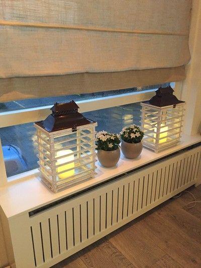 Binnenkijken bij chan - Dagje naar Tuincentrum het Oosten geweest in Aalsmeer, echt een aanrader!  Twee grote lantaarns gekocht voor in het raam  Wat vinden jullie hiervan?