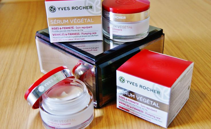 A Life With Frills: BEAUTY REVIEW: YVES ROCHER SERUM VEGETAL WRINKLES & FIRMNESS CREAMS
