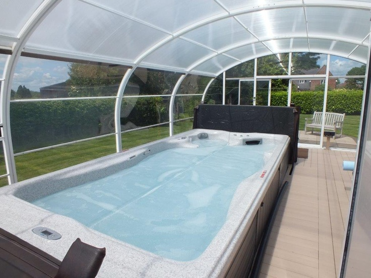 10 best swim spas images on pinterest spa images spa - How much is an endless pool swim spa ...