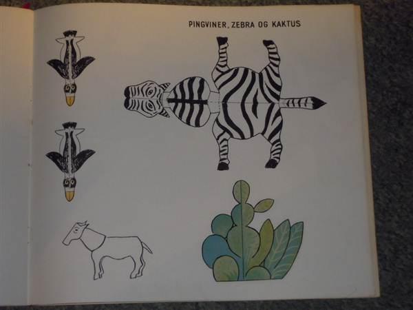 zoologisk have af hans scherfig. dyr til udklip og foldning_8