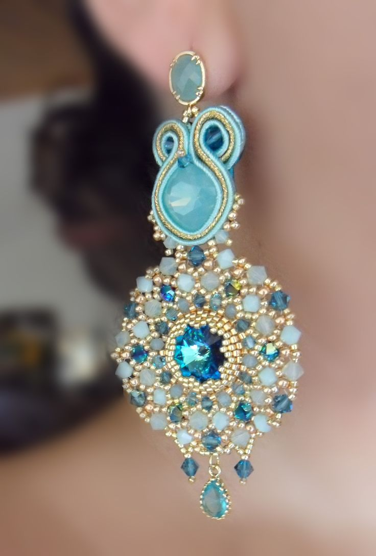 Serena Di Mercione Creation soutache, swarovski