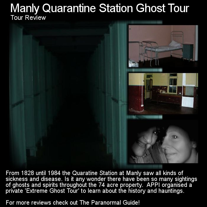 List Of Haunted Places In Brisbane: Manly Quarantine Station Tour Ghost Review. Here Is A