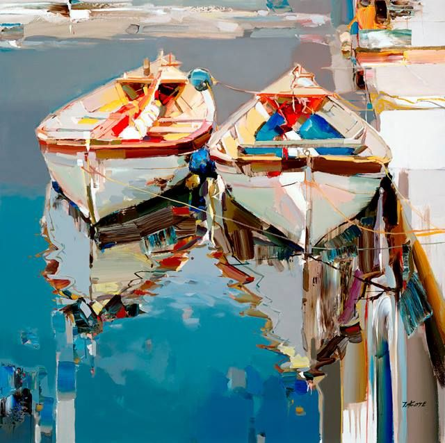 ''Light, both in life and in art, has b een an intriguing concept for me.I pour myself onto each painting I create and every time the motivation is finding the light.'' - Josef Kote