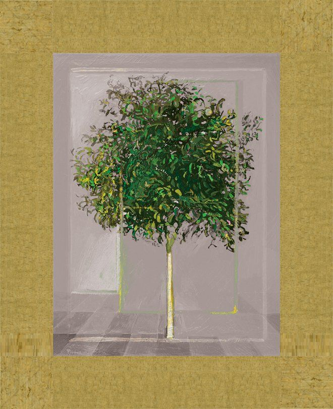 Green orange tree - Bizart Galleries