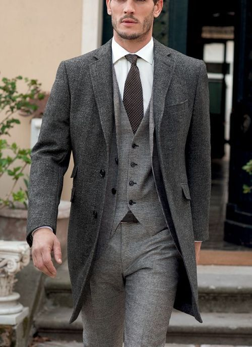Suit: Grey Suits, Guys Style,  Suits Of Clothing, Men Style, Men'S, Menstyle, Men Fashion, Style Guide, Coats