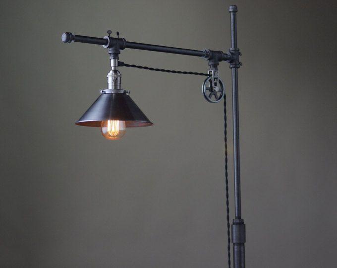 The 25 best edison floor lamp ideas on pinterest for Pipe lamp plans