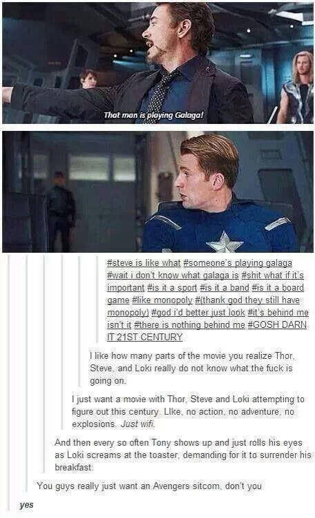 I would watch this. So much. I'd watch the hell outta this.