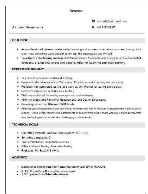 resume for homemaker entering the workforce