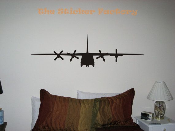 C-130 Wall Decal Boy's Room