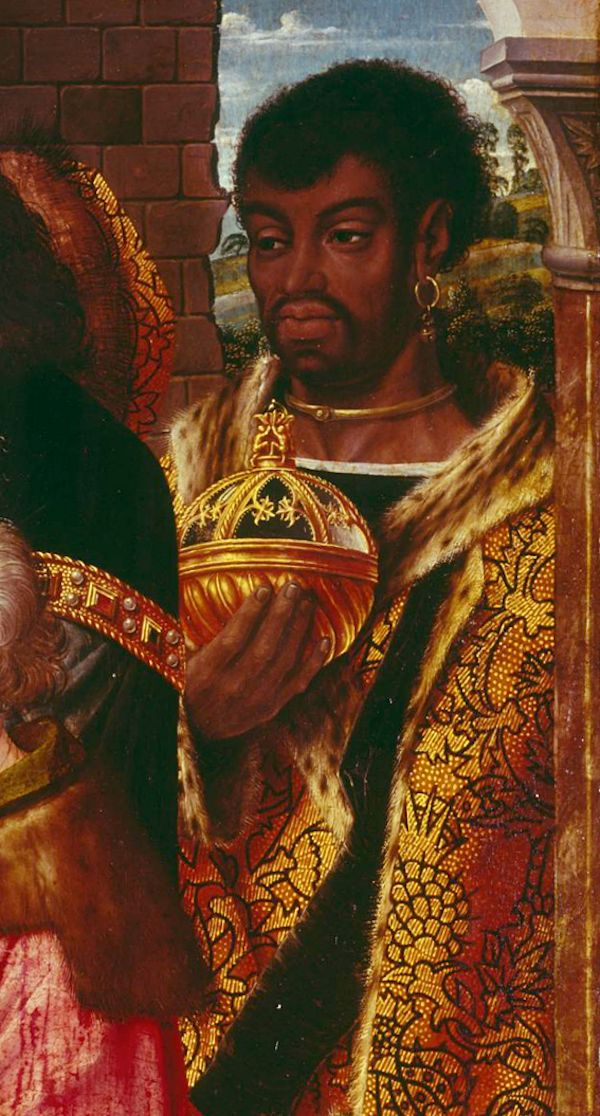 Anonymous, after Hugo van der Goes  Adoration of the Magi  Netherlands (c. 1500)  Oil on Wood, 73.5 x 72.5 cm.  Copy after lost original.