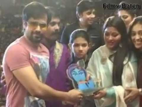 Emraan Hashmi At Dahi Handi Celebration