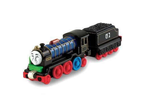 Thomas the Train: Hiro Patchwork Take N Play Engine by Fisher-Price. $9.99. Works with Thomas Take-n-Play and take along sets. Diecast metal engine. Thomas And Friends Medium-Large-sized Hiro engine. Collect all your favorite friends from Thomas And Friends. Features magnetic connectors that connect either way. From the Manufacturer                An assortment of your favorite Thomas & Friends engines and vehicles, made of durable die-cast metal with magnet c...