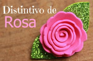 Distintivo de ROSA para Baby Shower | Blog de BabyCenter por @Carolina Krupinska Llinas