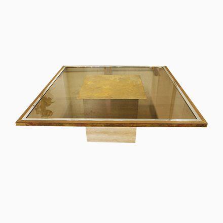 Couchtisch aus Travertin & Rauchglas Jetzt bestellen unter: https://moebel.ladendirekt.de/wohnzimmer/tische/couchtische/?uid=3b6e2e2c-901f-5bb2-9ab4-ed29cdf15b5c&utm_source=pinterest&utm_medium=pin&utm_campaign=boards #wohnzimmer #couchtische #tische Bild Quelle: pamono.com