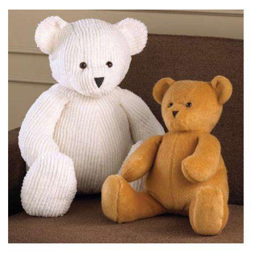 how to cut teddy bear pattern