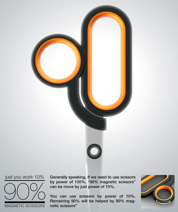 90% Magnetic Scissors by Sang-in Lee & Yun-je Sung