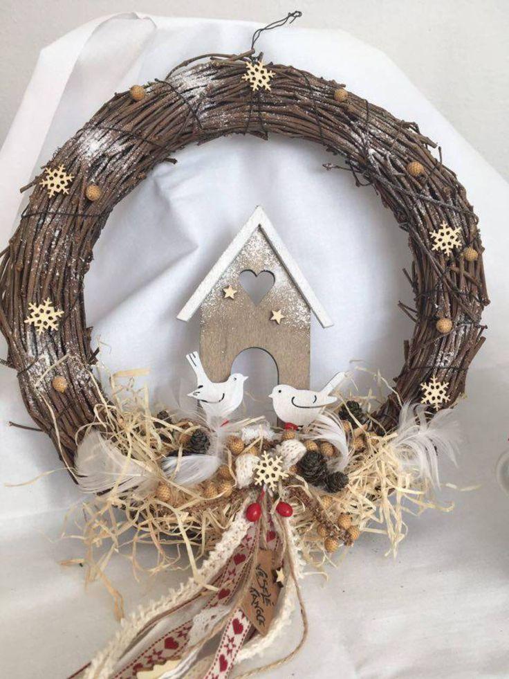Dekorácie - vianočný veniec - 7319909_