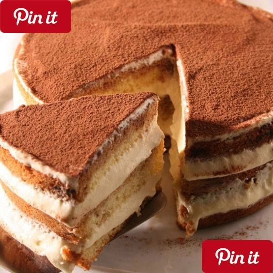 Tiramisu Cake Tiramisù is a dessert of Italian origin that is very popular in many regions of the world. It is a cold dessert which is composed of several layers usually all bathed in coffee forming a spongy cake and very tasty to the palate. Ingredients: - Mascarpone  kilo - Eggs 3 large - Saboiardi - Sugar 2-2 tablespoons - Brandy - Coffee a glass Preparation: 1- We started this Tiramisù by beating the two clearings that we have separated Snow point with help