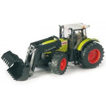 Bruder Spielwaren - Claas Traktor mit Frontlader