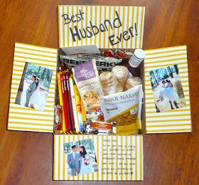Care Package Ideas For Traveling Husband