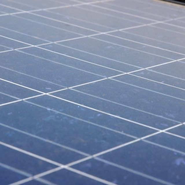 Some companies will give you their used solar panels for free.