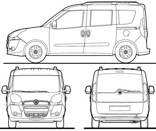 fiat doblo van dimension cerca con google car wrapping pinterest search van and fiat doblo. Black Bedroom Furniture Sets. Home Design Ideas
