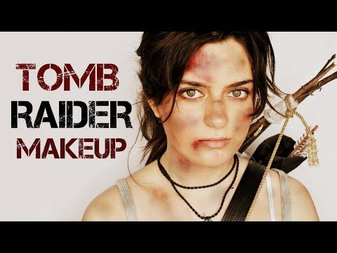 Antigone Now Makeup//TOMB RAIDER Lara Croft make-up transformation - YouTube