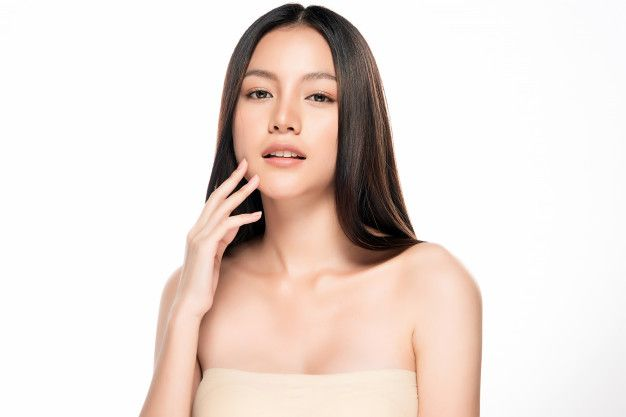 Beautiful Young Asian Woman With Clean Fresh Skin | Beautiful skin care,  Fresh skin, Asian woman
