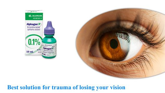 One of the most popular medicine and the safe medicine for treating eye disorders is generic Alphagan and you should start using the medicine as soon as you see any symptoms of open angle glaucoma and Ocular hypertension else you would lose your vision.