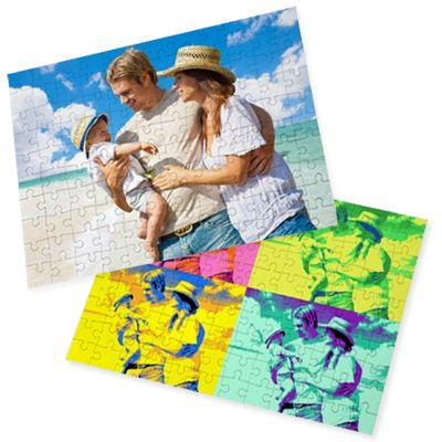 Un puzzle qu'elle n'oubliera jamais car personnalisé avec la photo qu'elle adore.
