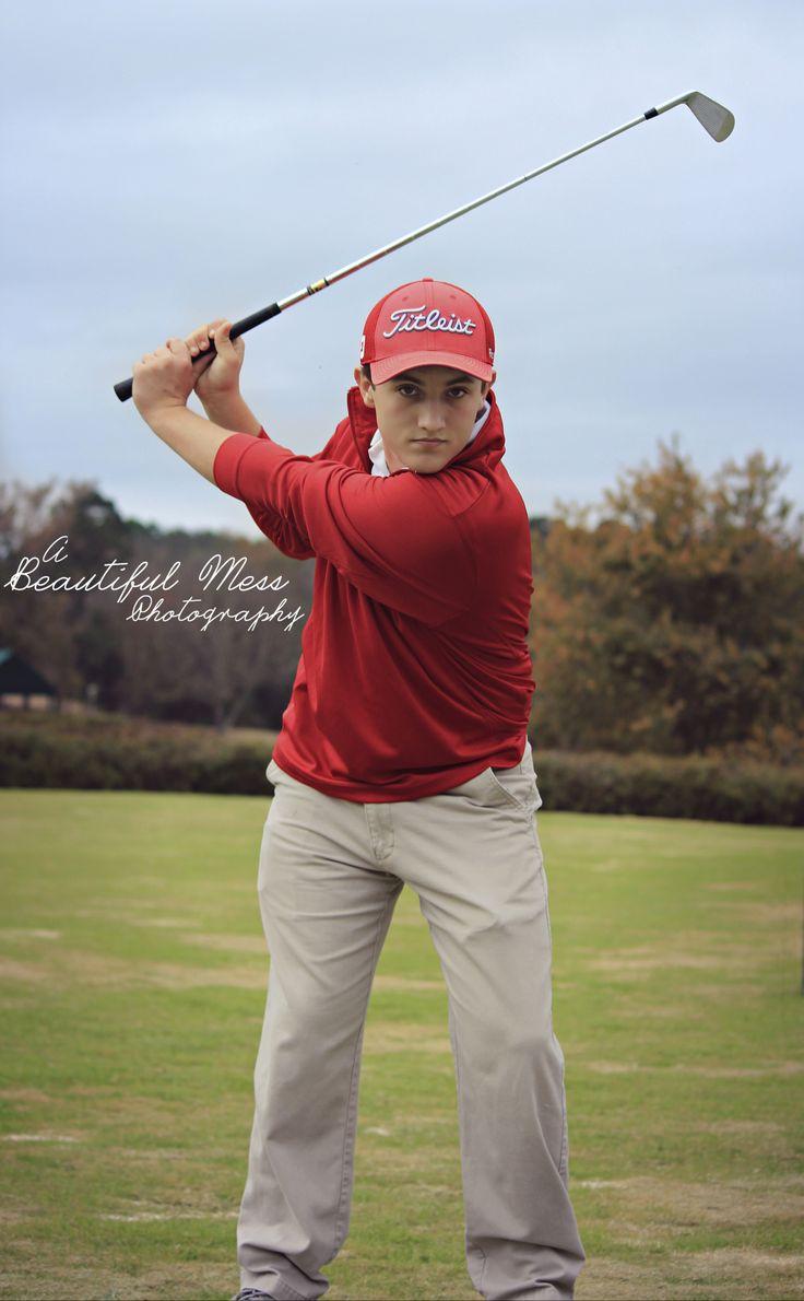 Senior Guy Golf Pictures