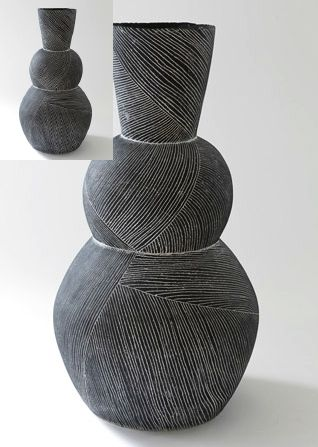 Louise Gelderblom...assignment: make your clay project look as though it has been made from another material.