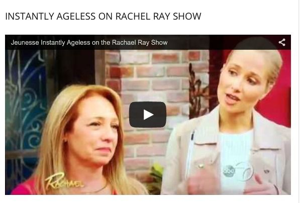 Instantly Ageless was recently featured on the Rachel Ray show with a dermatologist trying and reviewing the newest products. See how our product delivered on its promises