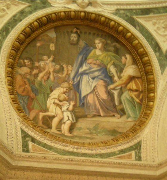 Cappella Bandini San Silvestro al Quirinale