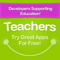 The logo for our program for supporting teachers and schools with free apps for testing.