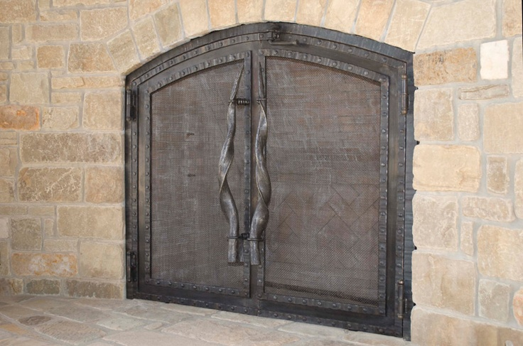 17 best images about fireplace doors on pinterest copper Efficient Wood Fireplace Designs More Efficent Building Fireplaces