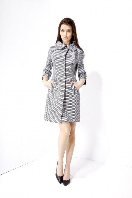 kurtki i płaszcze-Płaszcz Jacqueline