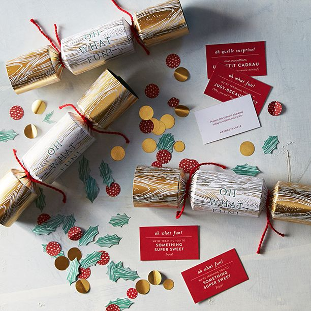"Anthropologie might be one of the best places to stop this coming Friday. Shoppers will receive a festive ""popper"" containing confetti, a paper crown and various levels of goodies ranging from ""something super sweet"" and a ""just because gift"" to an Anthropologie gift card valued up to $500!"